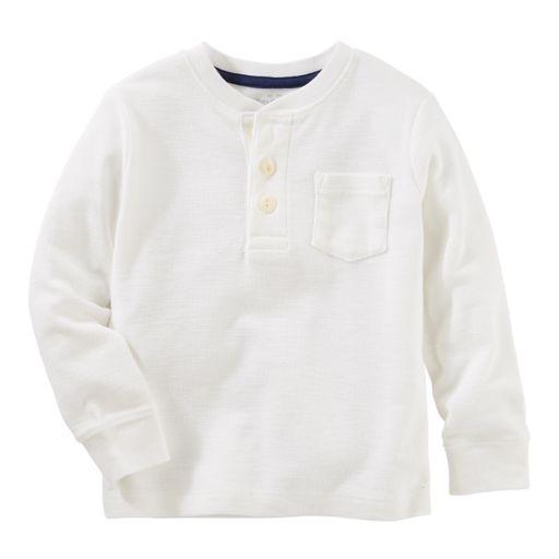 Toddler Boy OshKosh B'gosh® Thermal Henley Tee