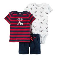 Baby Boy Carter's Dog Bodysuit, Striped