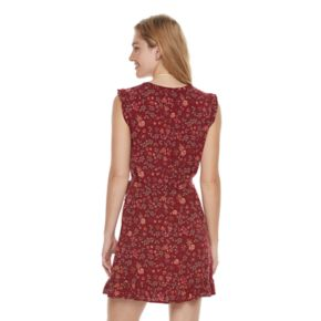 Women's SONOMA Goods for Life? Floral Ruffle Shift Dress