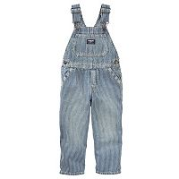Toddler Boy OshKosh B'gosh® Striped Denim Overalls