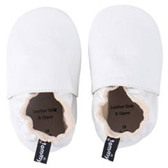 Baby Girl Tommy Tickle Solid Slip-On Crib Shoes