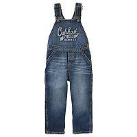 Toddler Boy OshKosh B'gosh® Logo Denim Overalls