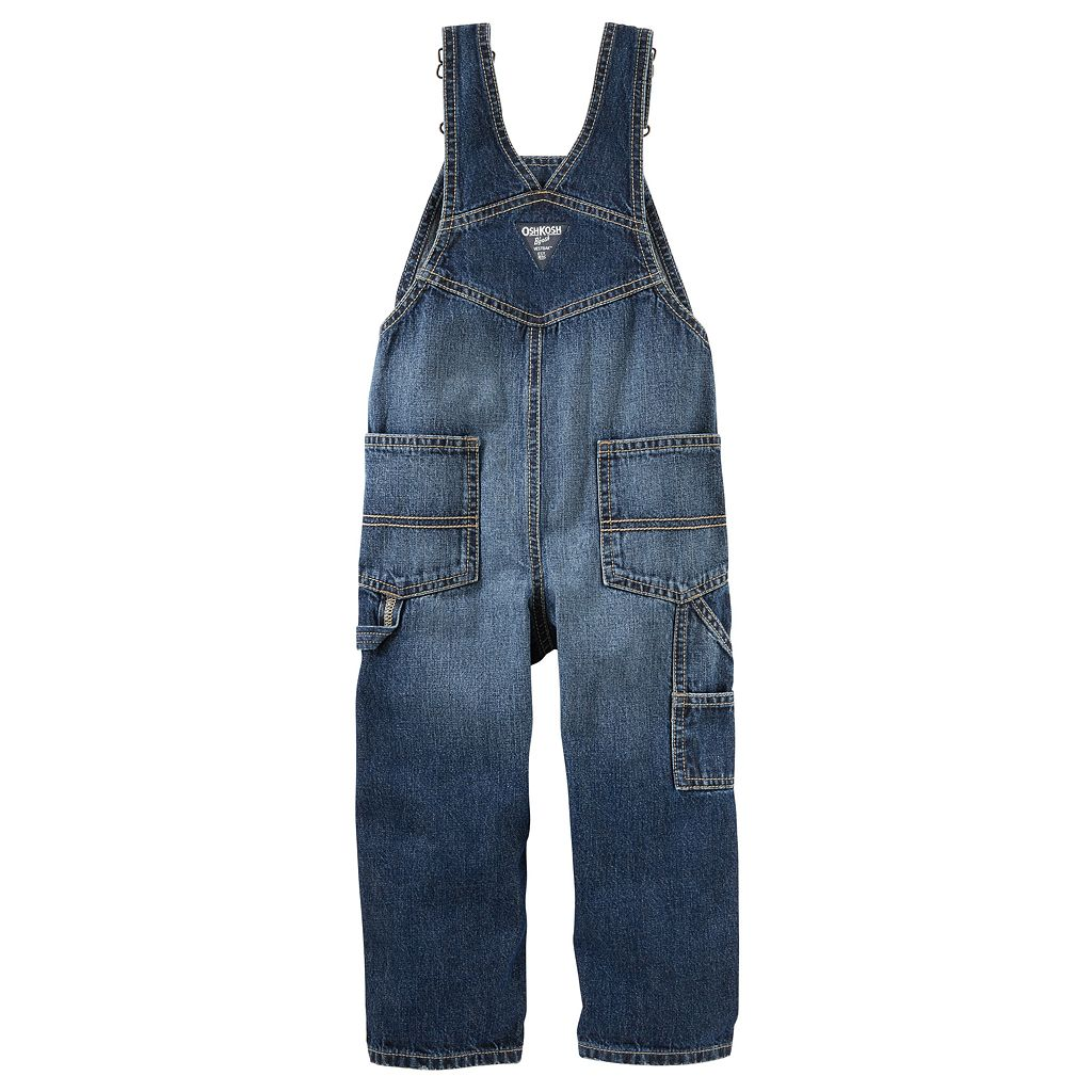 Toddler Boy OshKosh B'gosh® Logo Denim Overalls