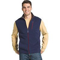 Men's IZOD Latitude Regular-Fit Stretch Performance Polar Vest