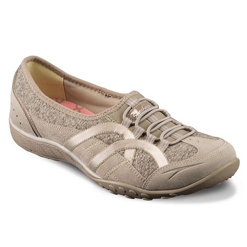 Skechers Relaxed Fit Breathe Easy Mantra Taupe Women S Shoes