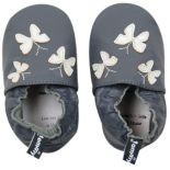 Baby Girl Tommy Tickle Butterfly Slip-On Crib Shoes