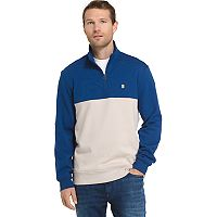 Men's IZOD Advantage Sportflex Colorblock Quarter-Zip Fleece Pullover