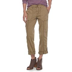 Petite SONOMA Goods for Life™ Twill Convertible Pants