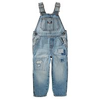 Toddler Boy OshKosh B'gosh® Patchwork Denim Overalls