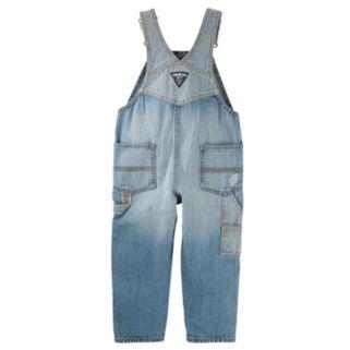 Toddler Boy OshKosh B'gosh® Patchwork Denim Overalls