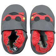 Baby Boy Tommy Tickle Race Car Slip-On Crib Shoes