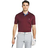 Men's IZOD Swingflex Classic-Fit Feeder-Striped Performance Golf Polo