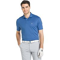 Men's IZOD Swingflex Classic-Fit Feeder-Striped Performance Golf Polo