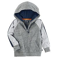 Toddler Boy OshKosh B'gosh® Marled Raglan Zip Hoodie
