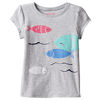 Toddler Girl Jumping Beans® Fish Graphic Tee