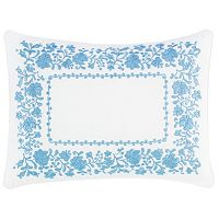 Laura Ashley Lifestyles Olivia Floral Breakfast Pillow
