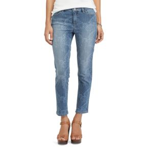 Petite Chaps Crop Skinny Jeans