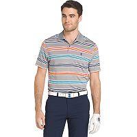 Men's IZOD Swingflex Classic-Fit Striped Performance Golf Polo