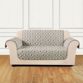 Sure Fit Furniture Flair Ogee Sofa Slipcover