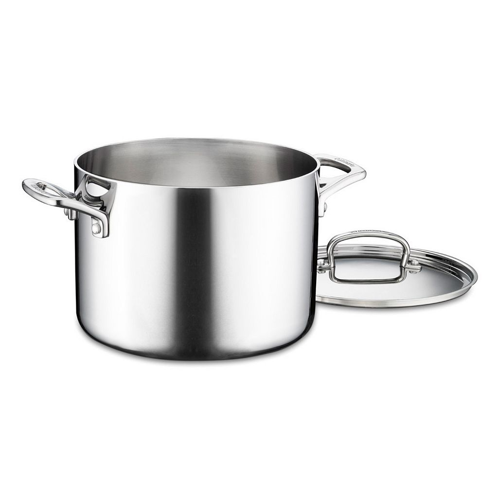 Cuisinart French Classic Tri-Ply Stainless Steel 6-qt. Stockpot