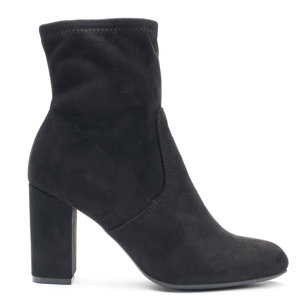 Candie's® Fans Women's High Heel Ankle Boots