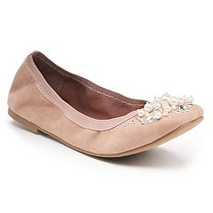 Candie's® Cinema Women's Scrunch Ballet Flats
