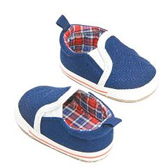 Baby Boy OshKosh B'gosh® Quilted Slip-On Crib Shoes