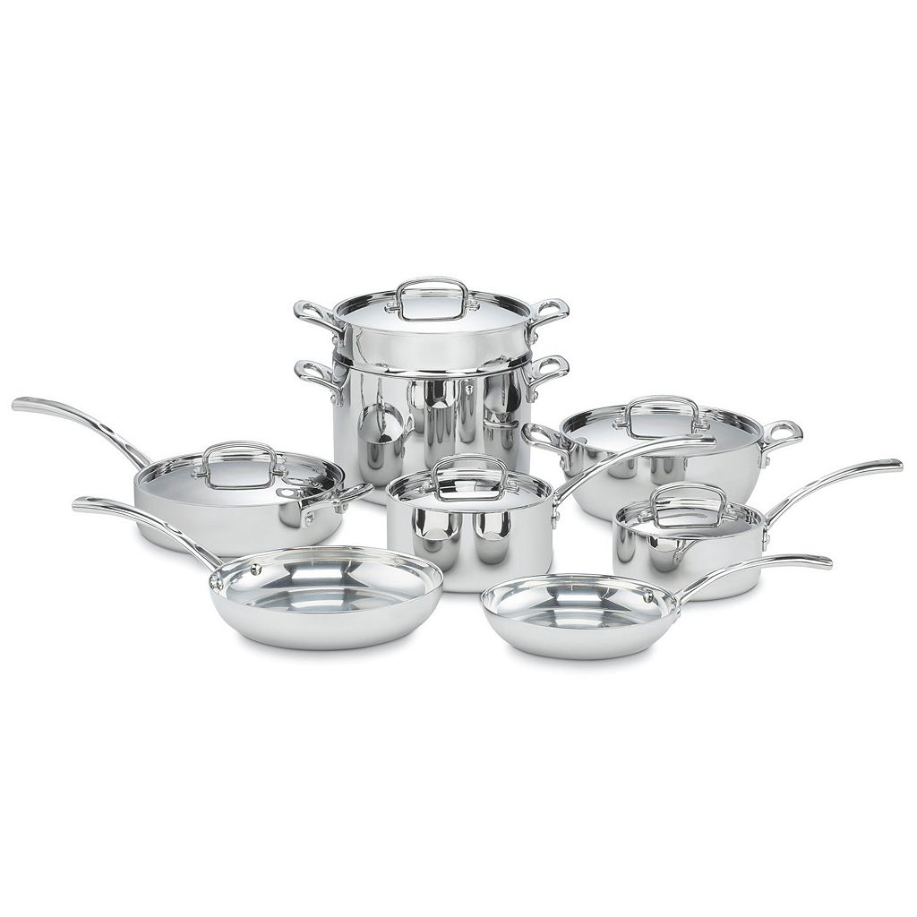 Cuisinart 13-pc. French Classic Tri-Ply Stainless Steel Cookware Set