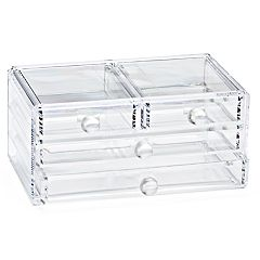 Tri-Coastal 4-Drawer Acrylic Organizer