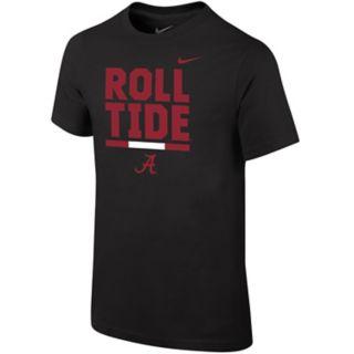 Boys 8-20 Nike Alabama Crimson Tide Local Verbiage Tee
