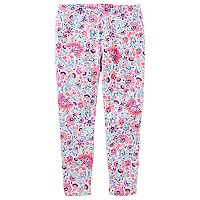 Toddler Girl OshKosh B'gosh® Floral Print Leggings