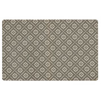 Mohawk® Home Neoprene Fleur Lattice Kitchen Mat - 23'' x 36''