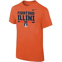Boys 8-20 Nike Illinois Fighting Illini Local Verbiage Tee