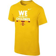 Boys 8-20 Nike Iowa State Cyclones Local Verbiage Tee
