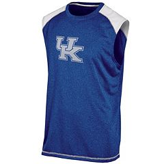 Men's Champion Kentucky Wildcats Colorblock Muscle Tee
