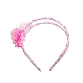 Toddler Girl OshKosh B'gosh® Double-Band Floral Headband
