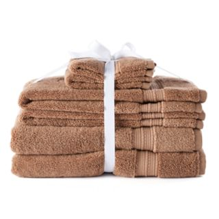 LC Lauren Conrad 6-piece Pima Cotton Bath Towel Set