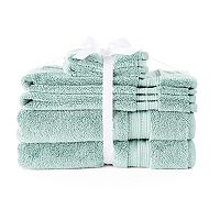 LC Lauren Conrad 6 pc Pima Cotton Bath Towel Set