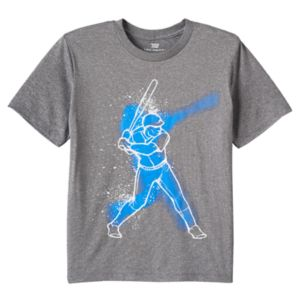 Boys 8-20 Tek Gear® Baseball Player Tee