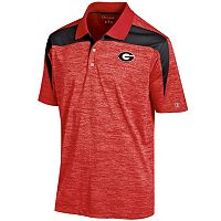 Men's Champion Georgia Bulldogs Boosted Stripe Polo