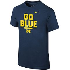 Boys 8-20 Nike Michigan Wolverines Local Verbiage Tee