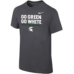 Boys 8-20 Nike Michigan State Spartans Local Verbiage Tee