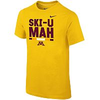 Boys 8-20 Nike Minnesota Golden Gophers Local Verbiage Tee