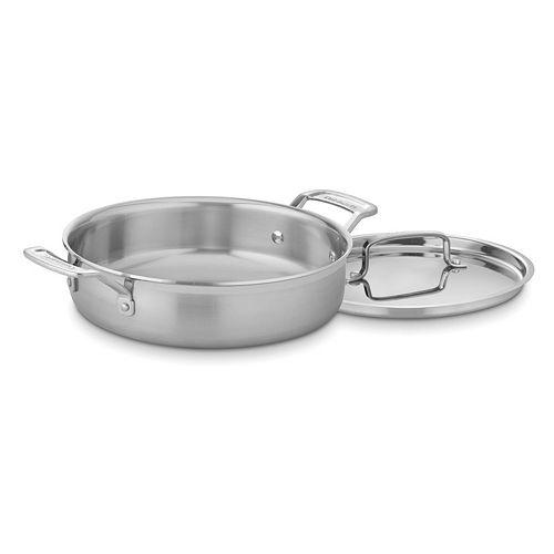 Cuisinart Multiclad Pro Triple Ply Stainless Steel 3-qt. Casserole Pan