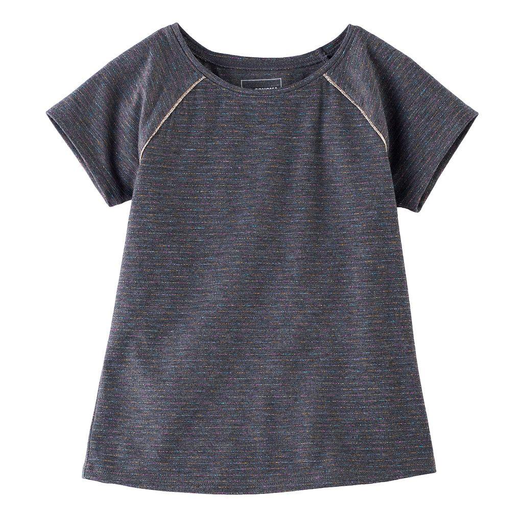 Girls 4-12 Jumping Beans® Short-Sleeved Slim-Fit Tee