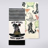 Celebrate Halloween Together Best Witches Kitchen Towel 2-pk.