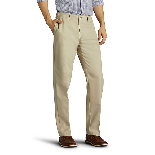 Men's Lee Total Freedom Relaxed-Fit Comfort Stretch Pants
