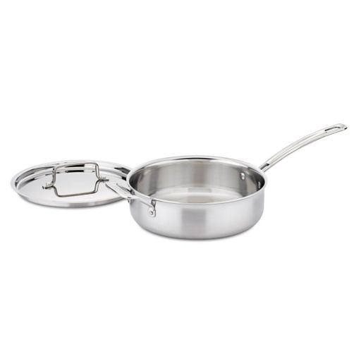 Cuisinart Multiclad Pro Triple Ply Stainless Steel 3.5-qt. Saute Pan