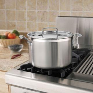 Cuisinart Multiclad Pro Triple Ply Stainless Steel 8-qt. Stockpot