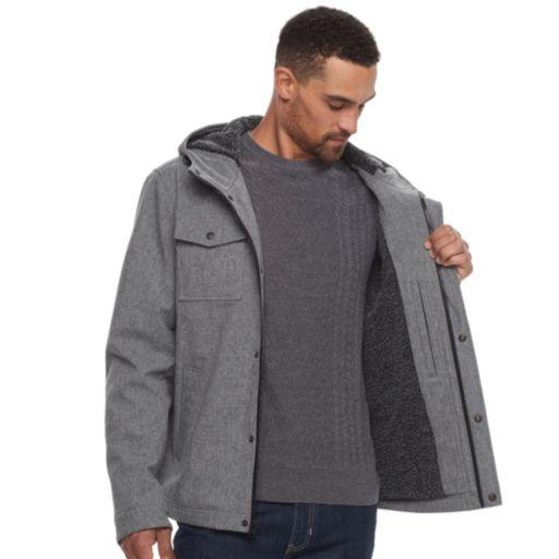 Men's Levi's® Sherpa-Lined Softshell Trucker Jacket